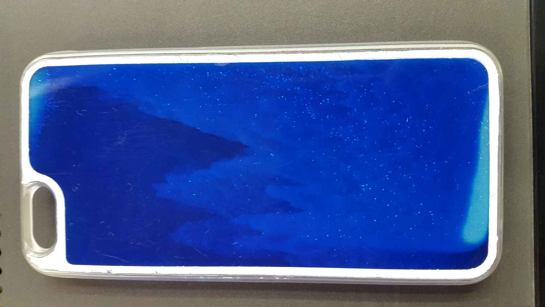 COVER ORIGINALE IPHONE 6 CON CASCATA BRILLANTINI