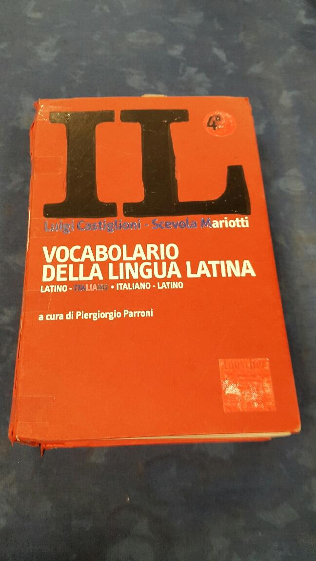 Catanzaro vocabolario lingua latina mercatino dell 39 usato for Mercatino dell usato latina
