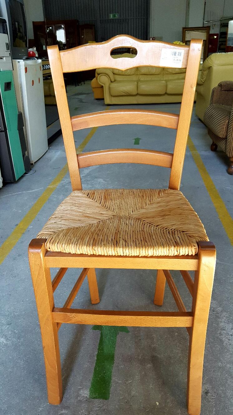 Catanzaro sedia impagliata mercatino dell 39 usato portobello - Sedia impagliata ...