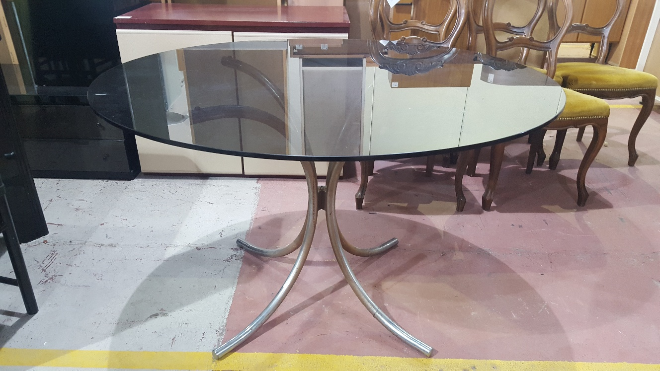 Catanzaro tavolo rotondo mercatino dell 39 usato portobello - Tavolo rotondo vetro diametro 120 ...