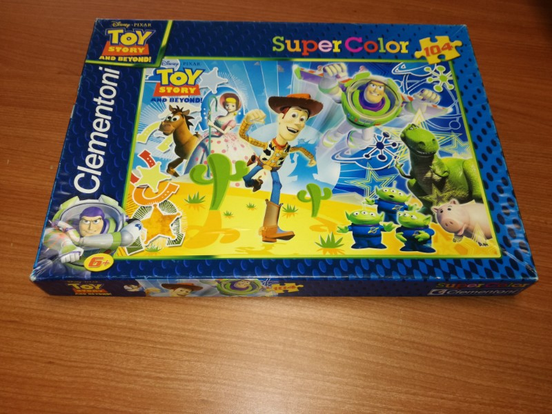 GIOCO IN SCATOLA PUZZLE  TOY STORY  104 PZ
