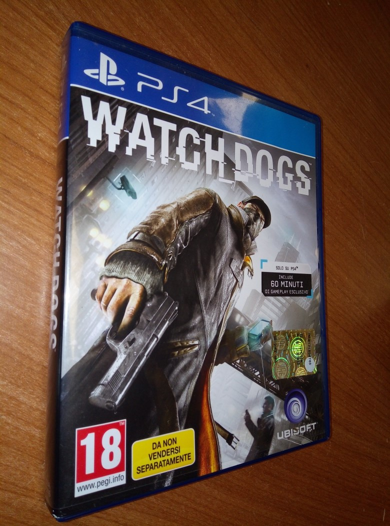 GIOCO PS4 WATCHDOGS