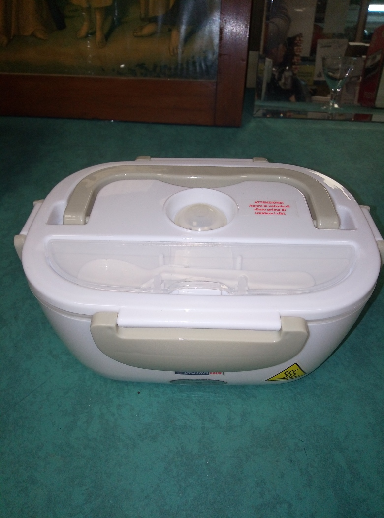 SCALDAVIVANDE ELETTR.TERMICO LUNCH BOX