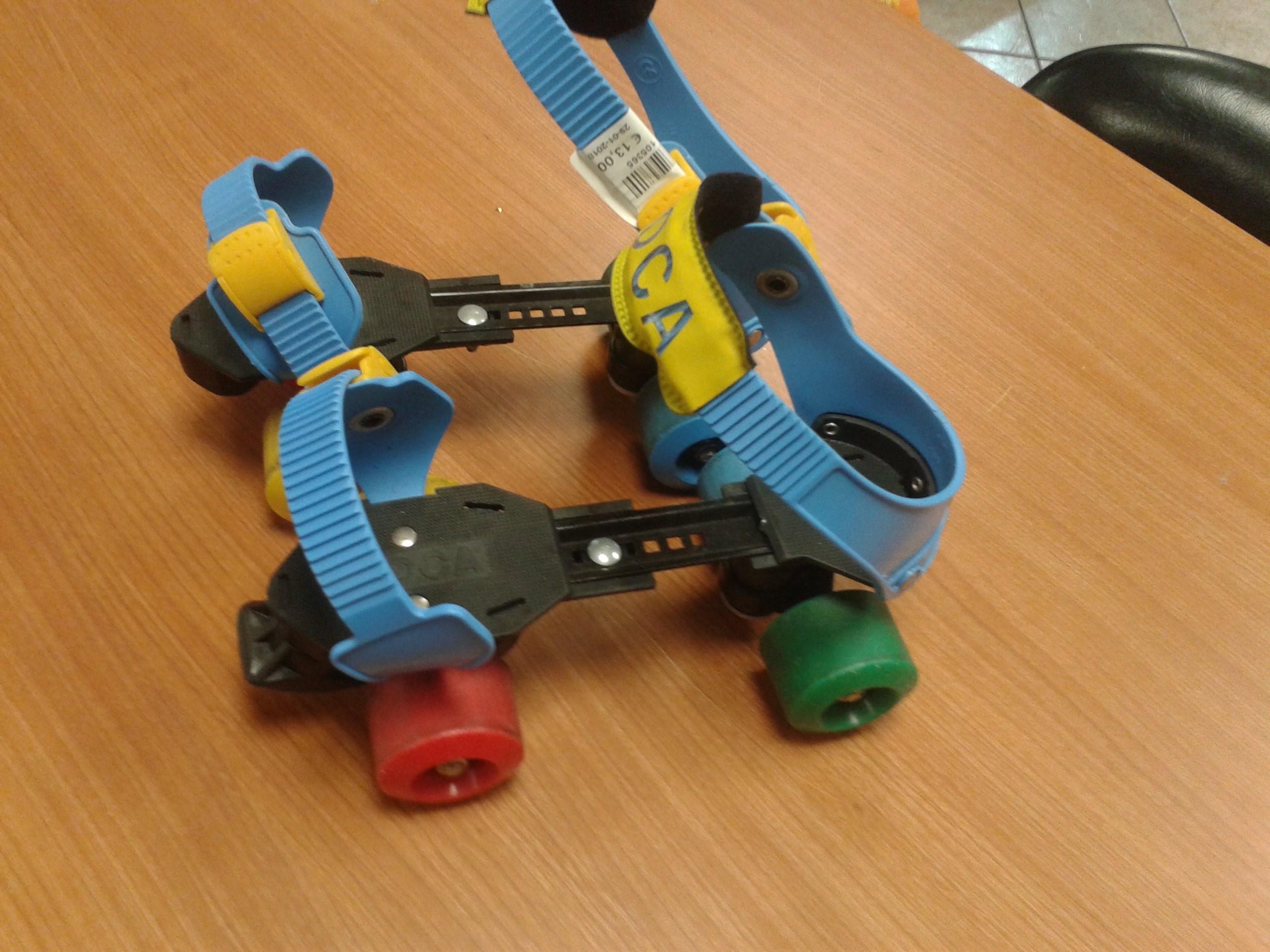 Catanzaro pattini a 4 ruote misura regolabile mercatino - Mercatino usato legnano ...