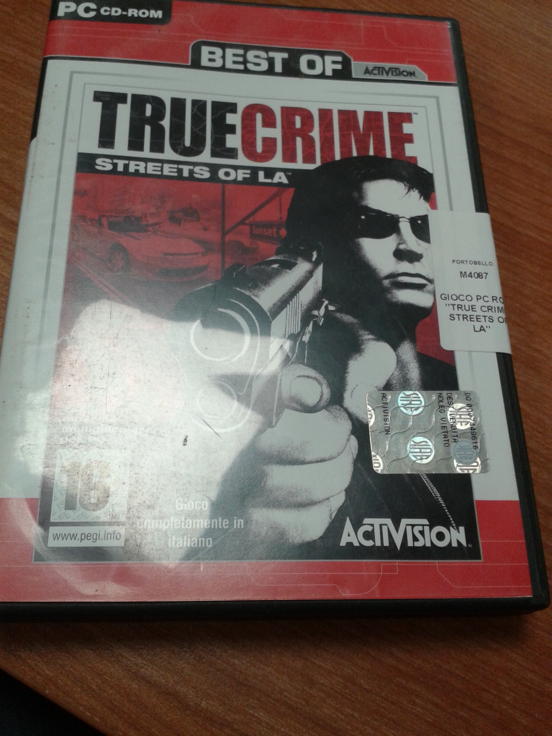 GIOCO PC ROM  TRUE CRIME STREETS OF LA