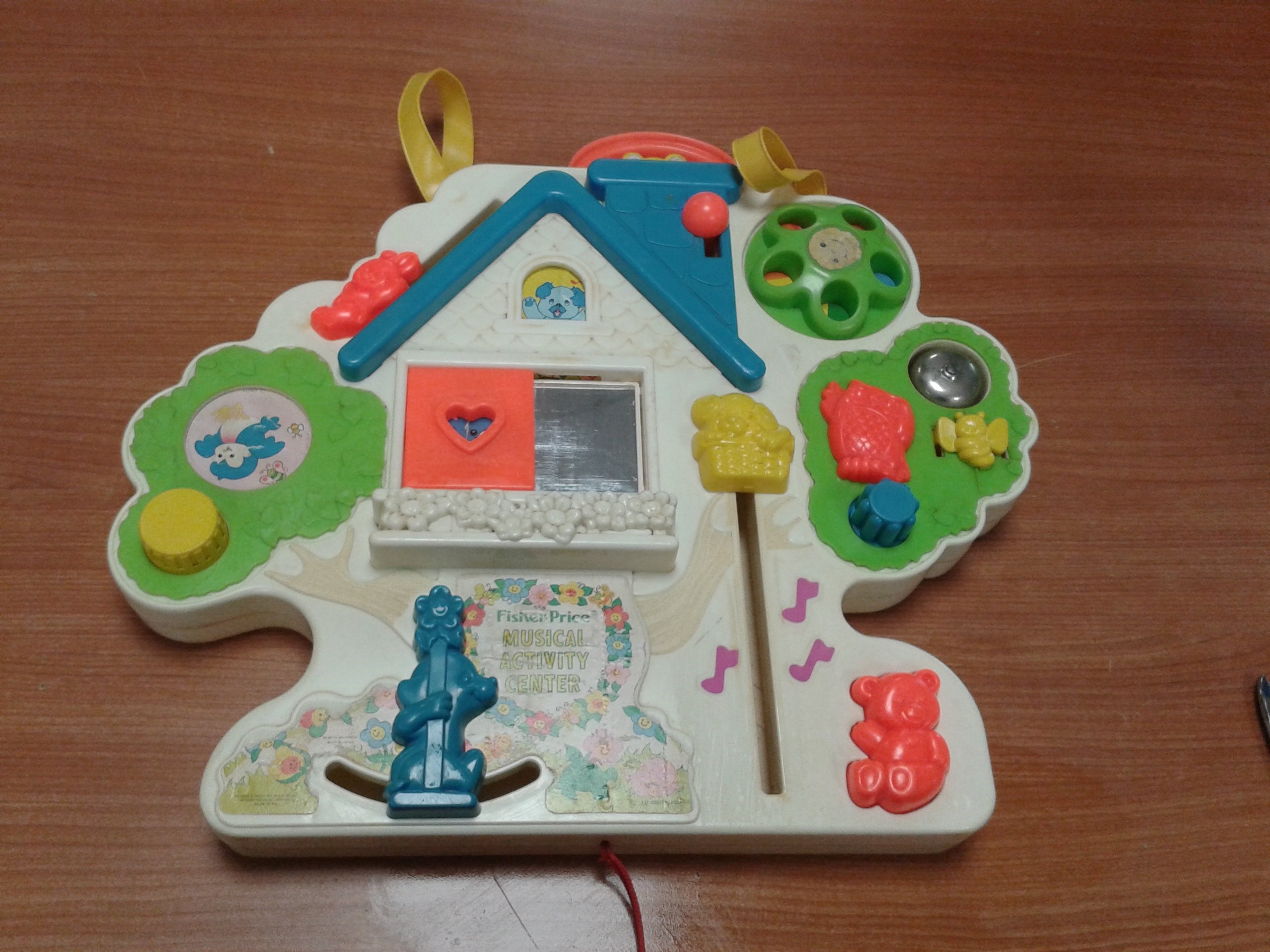 GIOCO VINTAGE FISHER-PRICE MUSICAL ACTIVITY CENTER