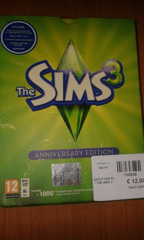 GIOCO PER PC  THE SIMS 3