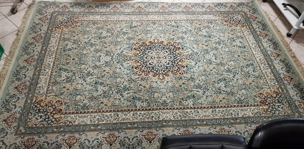 TAPPETO ORIENTALE MADE IN TURCHIA COLORE VERDE FANTASIA (CM 200 X CM 300)