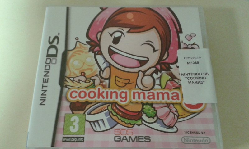 NINTENDO DS  COOKING MAMA3
