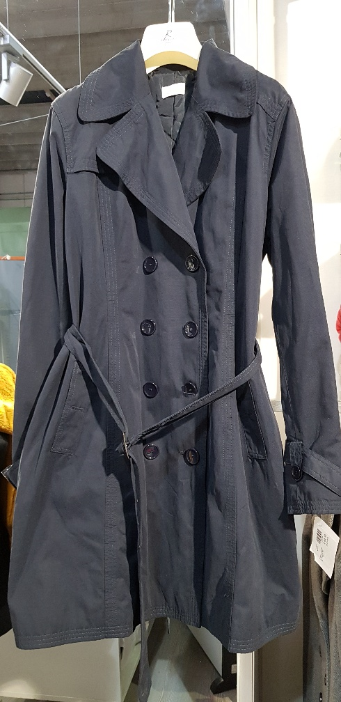 TRENCH DONNA BLU OLTRE TG.52