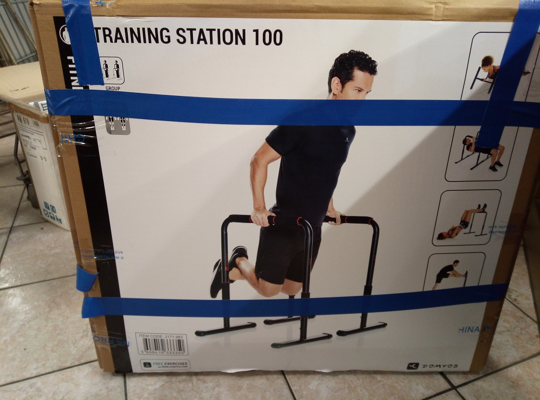BARRE PARALLELE TRAINING STATION 100