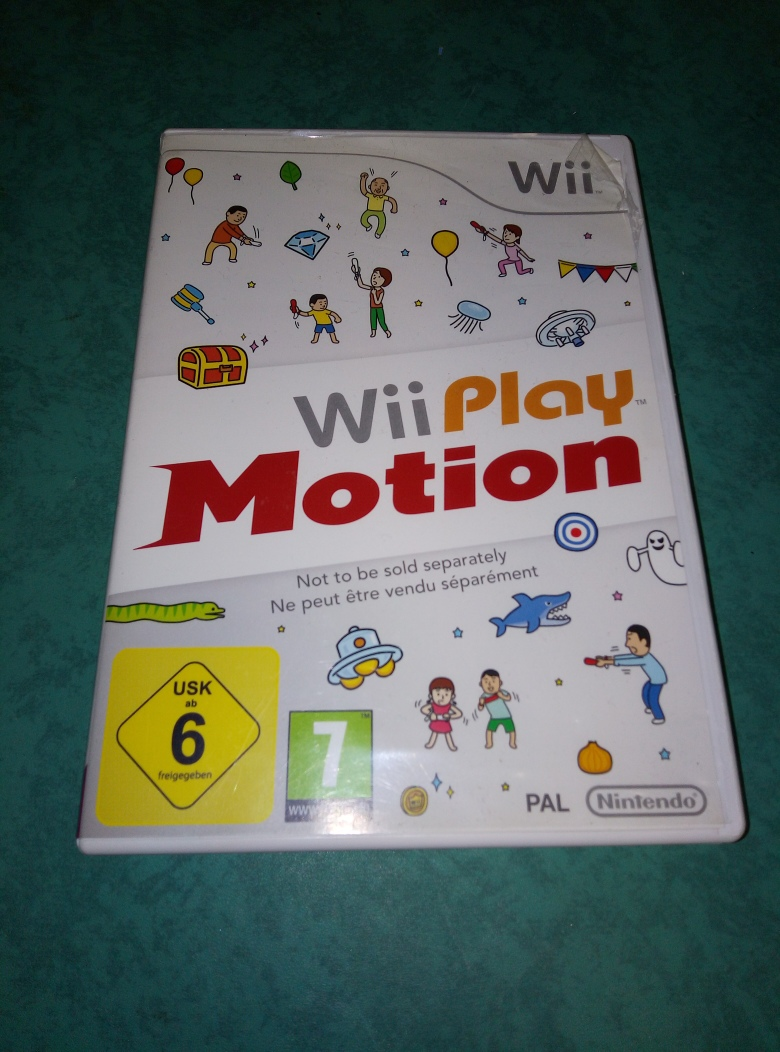 GIOCO WII PLAY MOTION