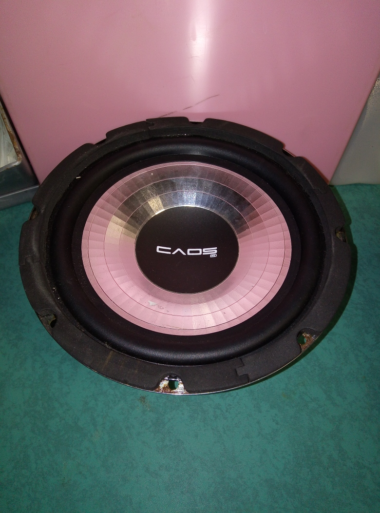 SUBWOOFER CAOS UNLIMITED 20CM 800W