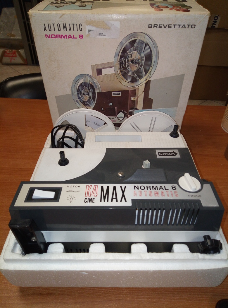 VIDEOPROIETTORE CINE MAX AUTOMATIC NORMAL