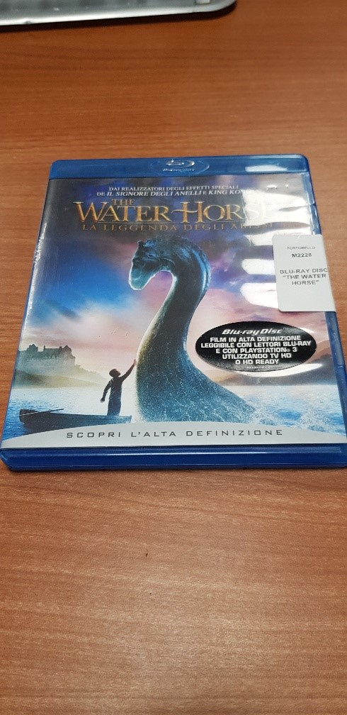 BLU-RAY DISC  THE WATER HORSE