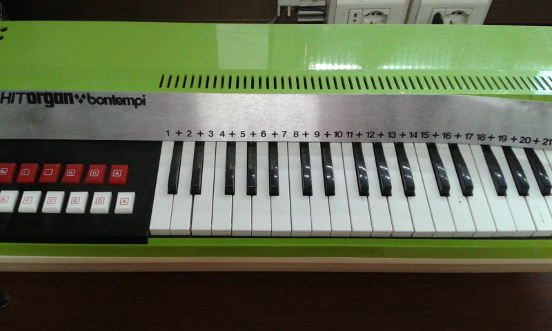 PIANOLA BONTEMPI HIT ORGAN (ANNI 70)
