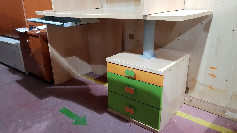 Scrivania Cameretta Verde : Catanzaro scrivania cameretta colore bianco l cm 97 x p cm 60