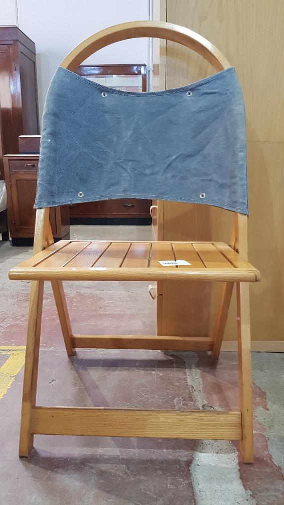 Sedie In Legno Pieghevoli Usate.Catanzaro Sedia Pieghevole In Legno Mercatino Dell Usato Portobello