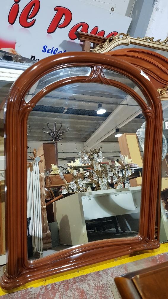 Catanzaro specchio camera da letto stile classico in noce for Camera da letto stile classico
