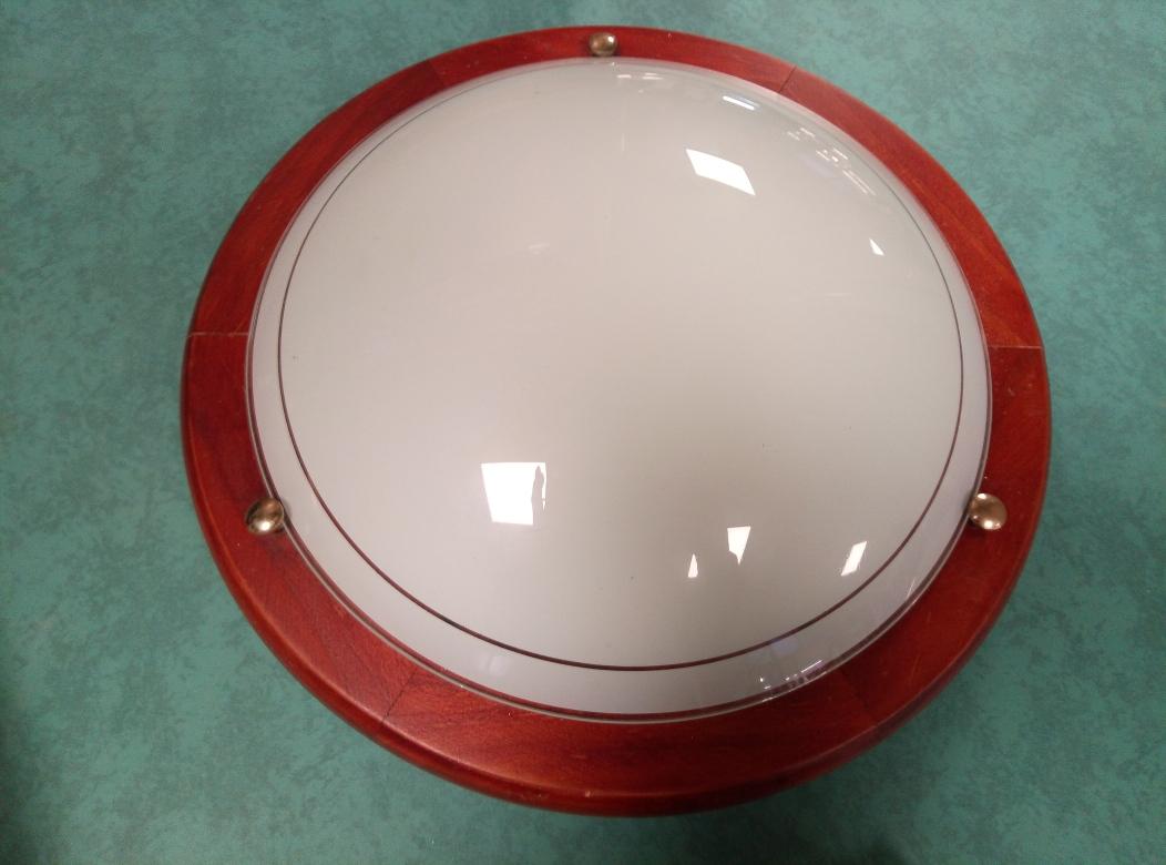 Plafoniere Legno E Vetro : Catanzaro plafoniera diametro 30 cm mercatino dellusato portobello