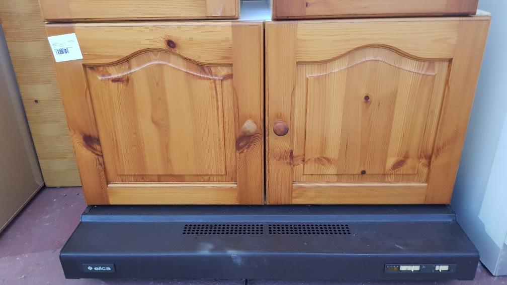 Cucina In Pino Russo : Catanzaro pensile cucina 2 ante in pino russo con cappa aspirante