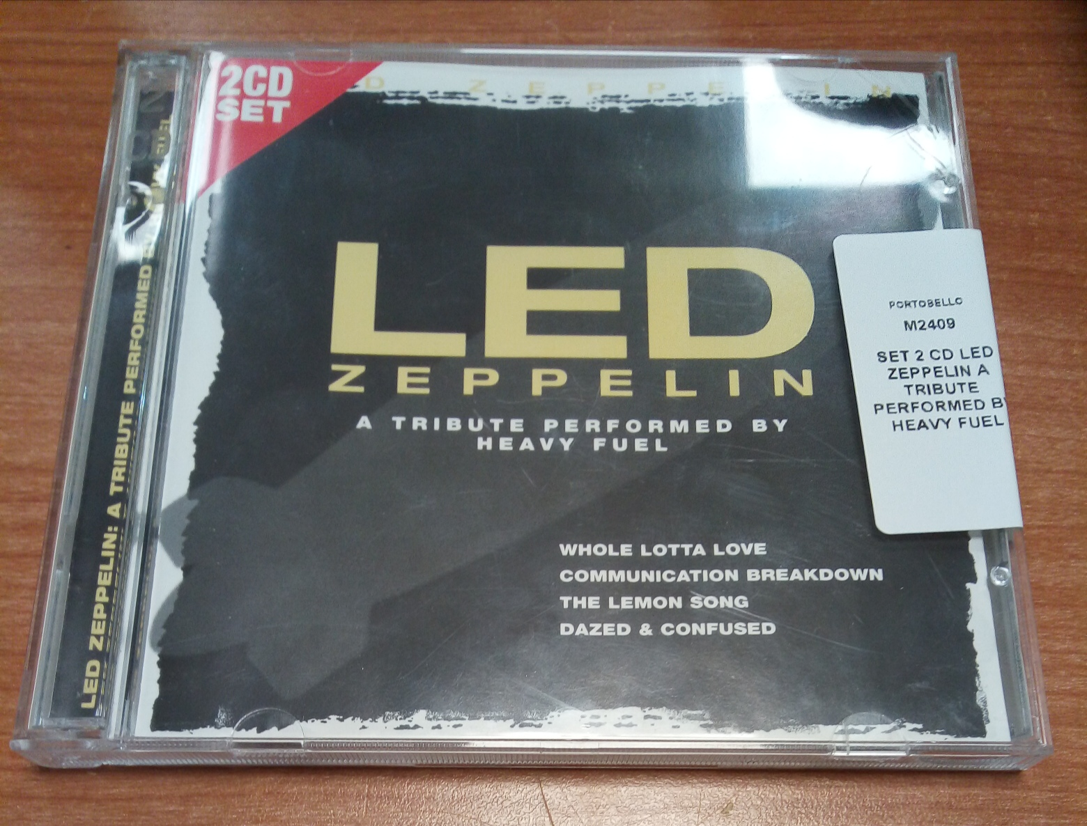 SET 2 CD LED ZEPPELIN A TRIBUTE PERFORMED BY HEAVY FUEL