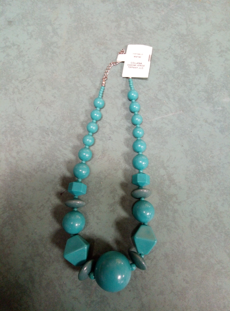 COLLANA DONNA VERDE TIFFANY JLO