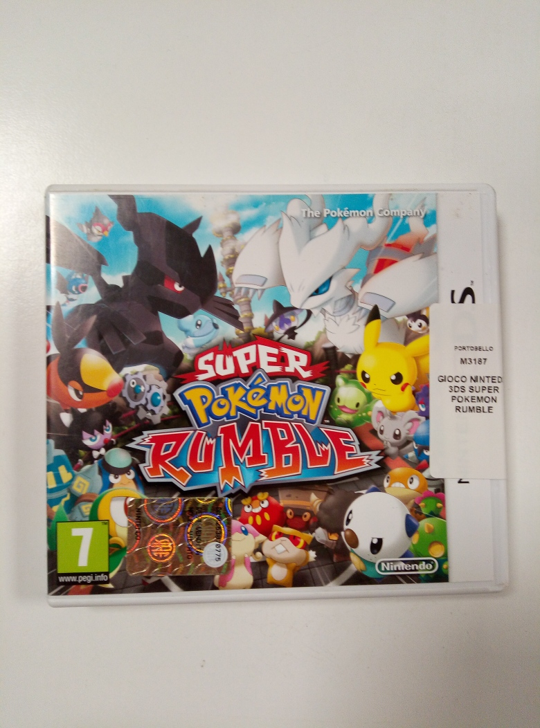 GIOCO NINTEDO 3DS SUPER POKEMON RUMBLE