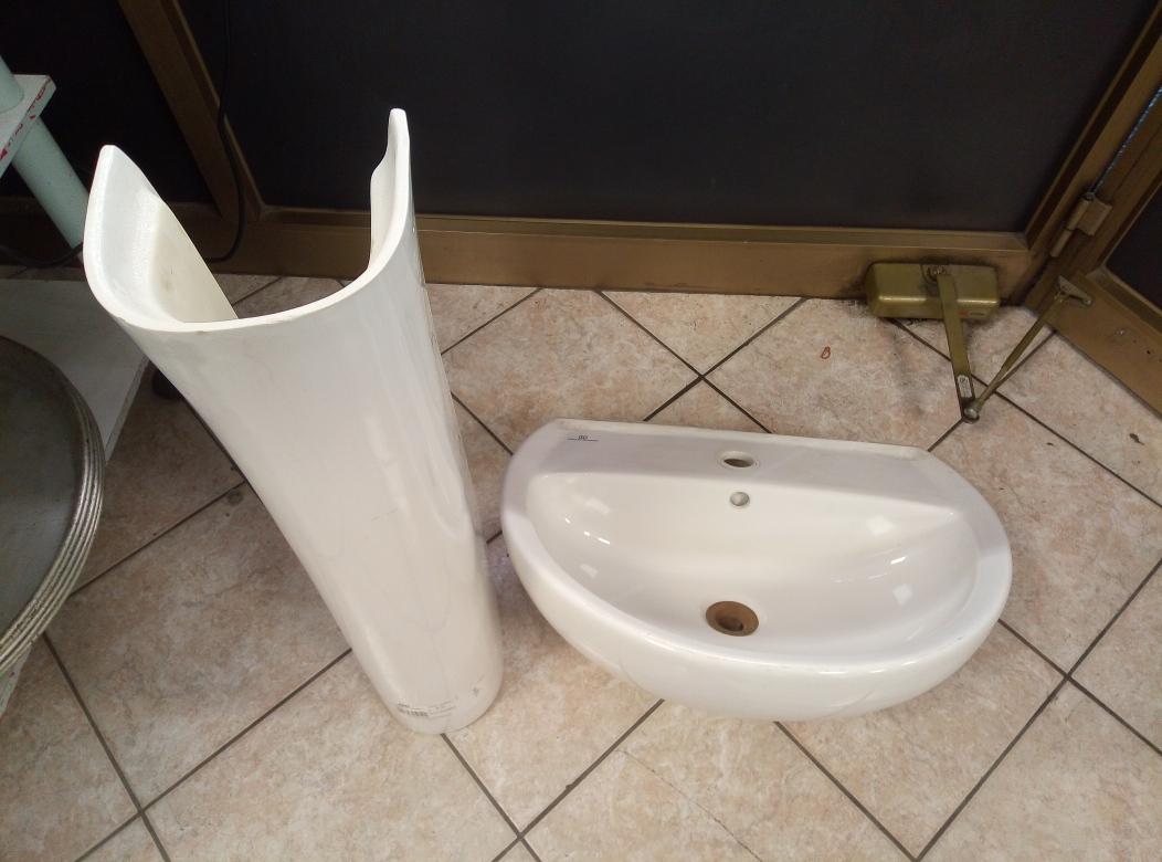 Lavandino Bagno Con Piede catanzaro lavabo bagno col piede in ceramica pozzi ginori